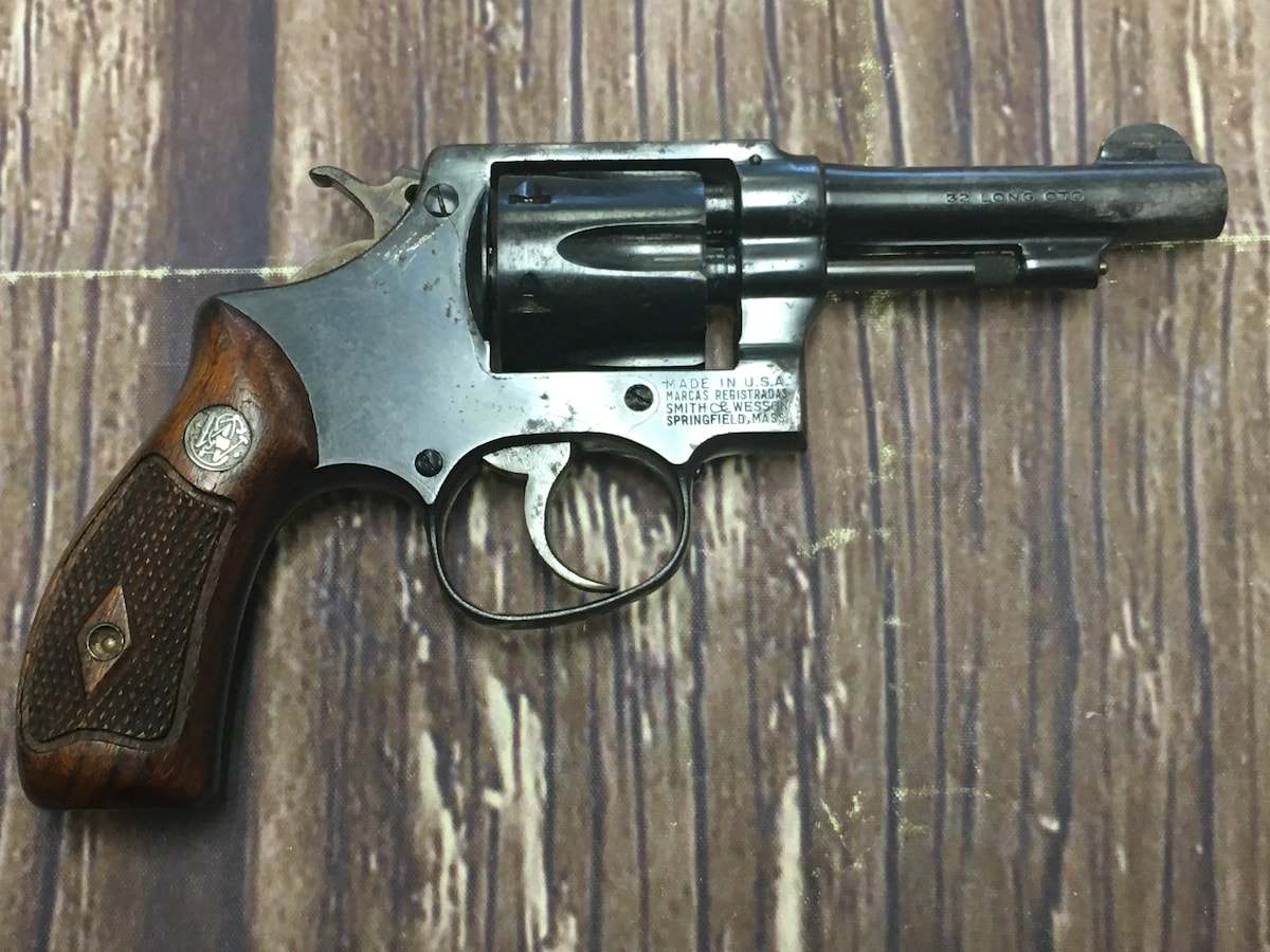 SMITH AND WESSON Hand ejector Pre model 30