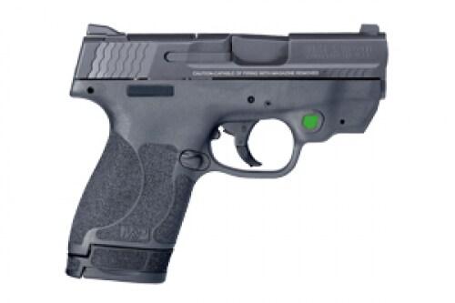 SMITH & WESSON M&P 9 Shield M2.0 TS, Green LSR