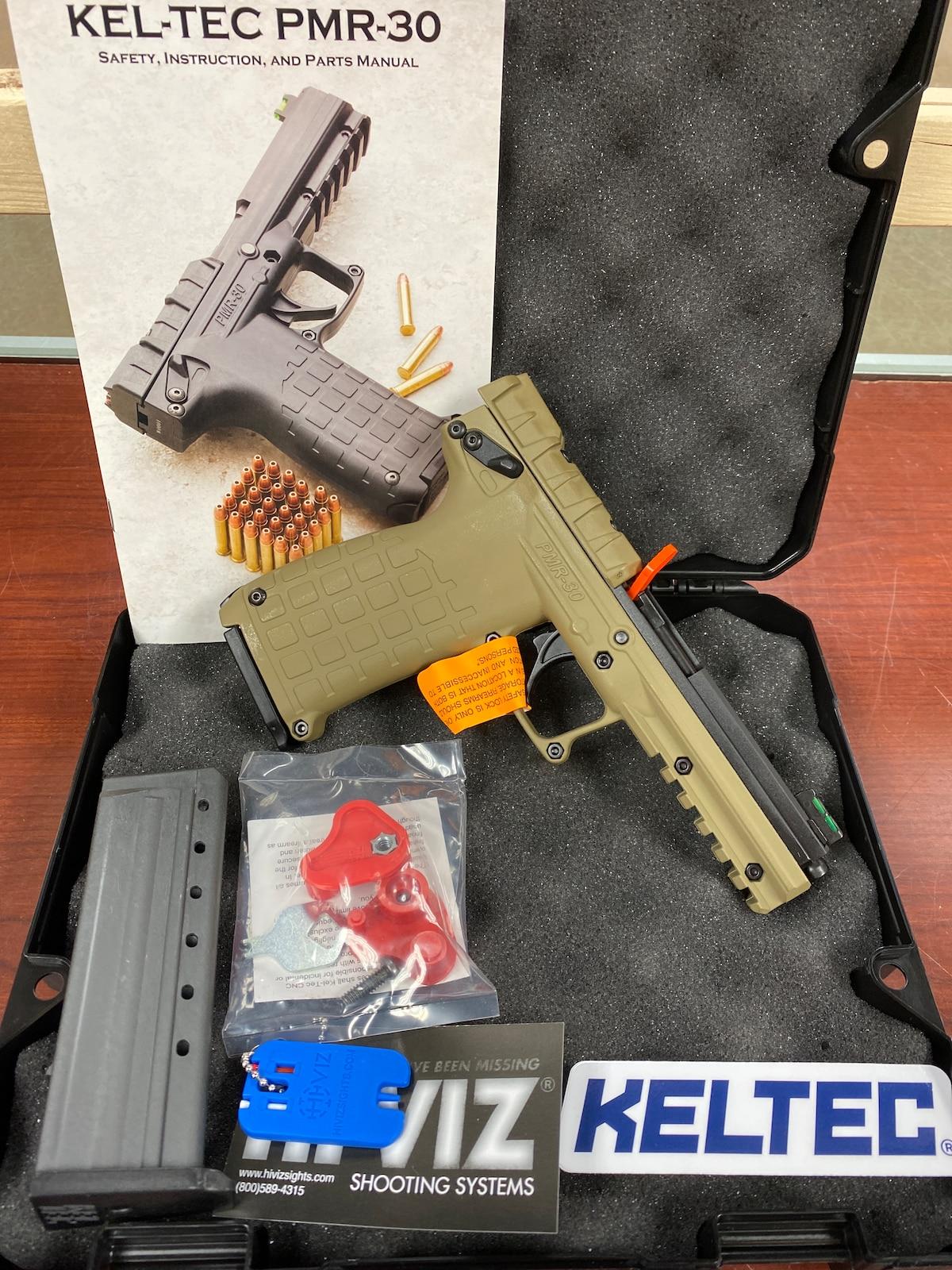 KEL-TEC PMR30 PMR-30 Tan