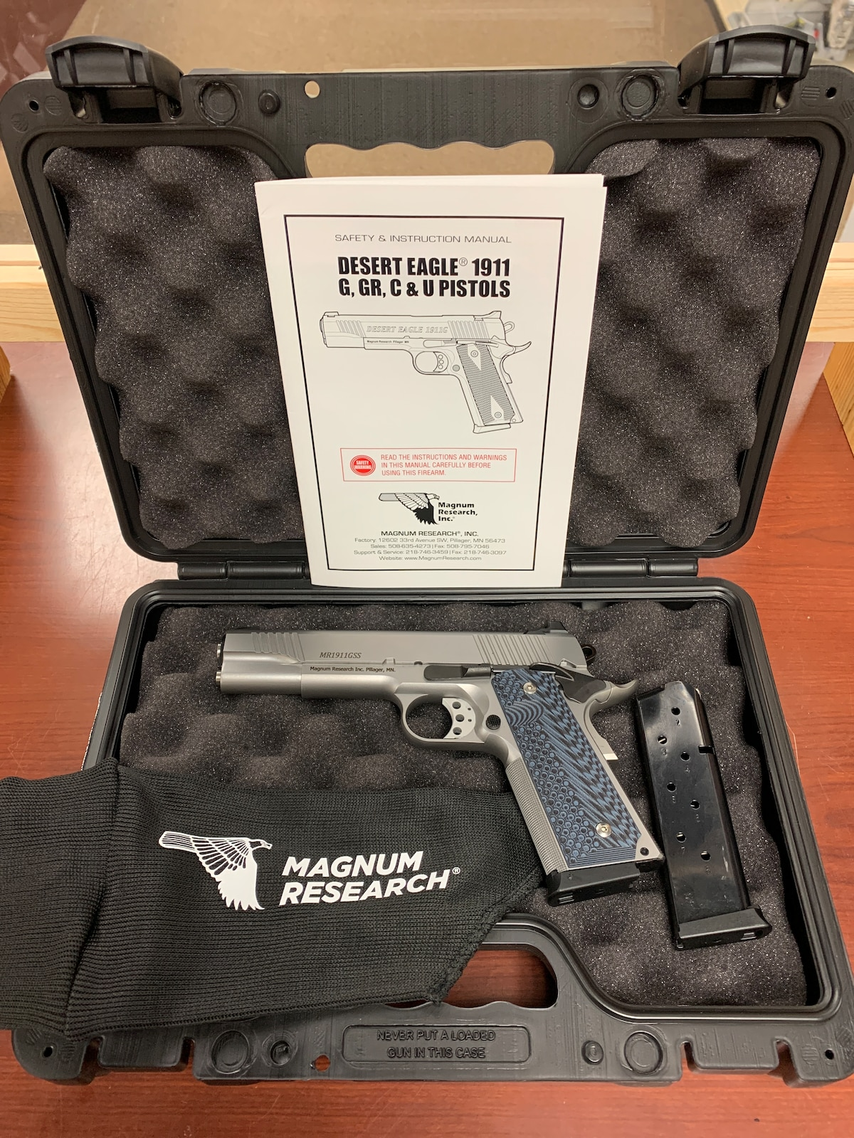 MAGNUM RESEARCH DESERT EAGLE 1911 G SS de1911gss