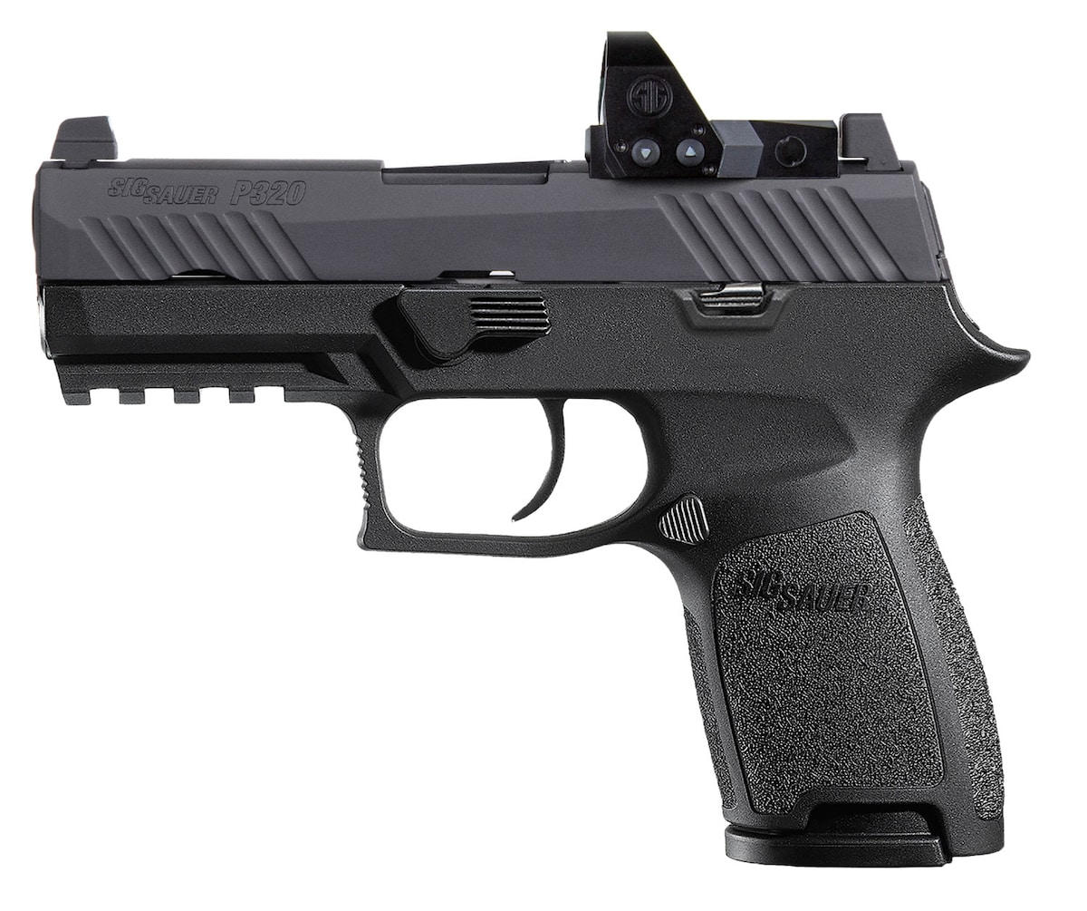 SIG SAUER P320 Compact Romeo1 Pro w / Tall Contrast Sights