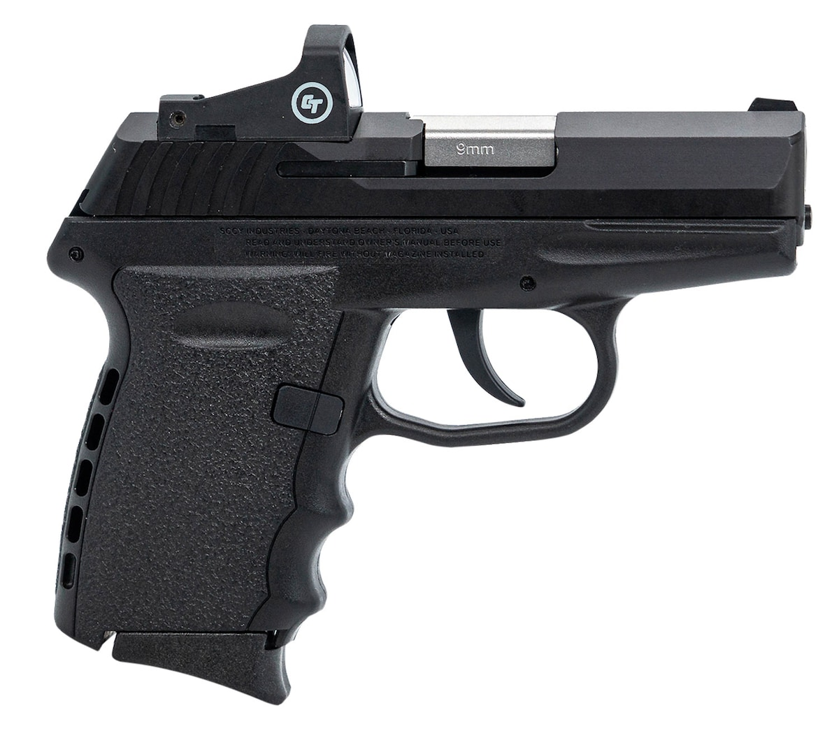 SCCY INDUSTRIES CPX-2 RD 9 Crimson Trace CTS-1500 Reflex sight.
