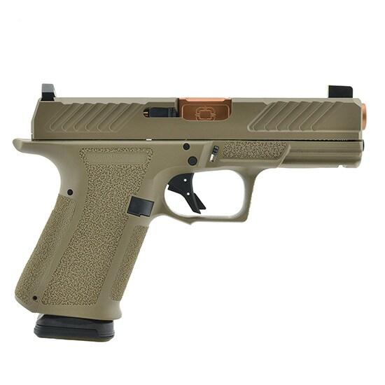 SHADOW SYSTEMS MR920 9mm FDE FRAME Combat Slide DLC
