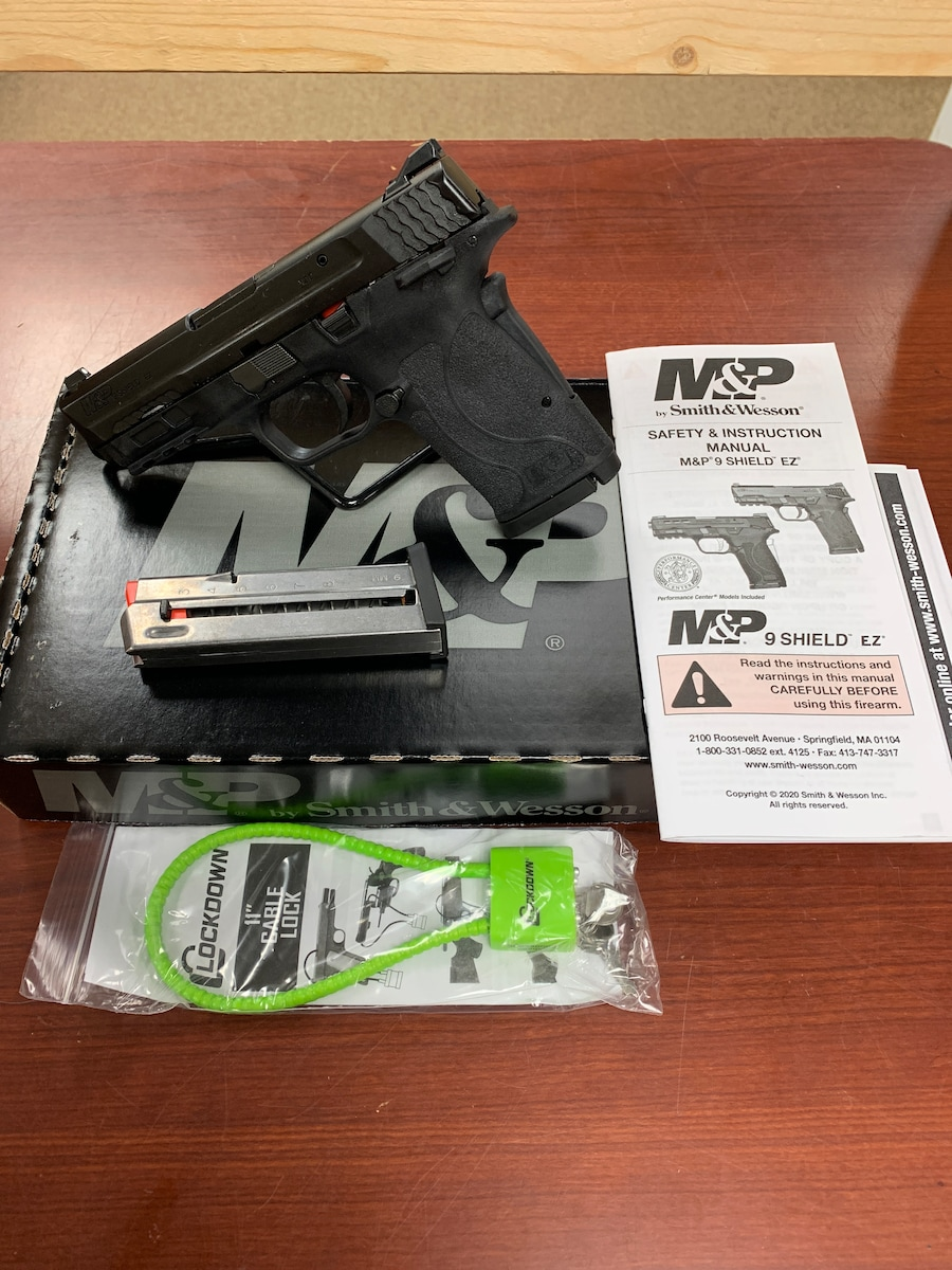 SMITH & WESSON M&P9 Shield EZ TS 12436