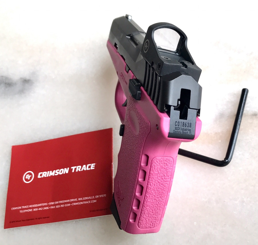 SCCY CPX-2  with red dot CPX-2TTPKRD