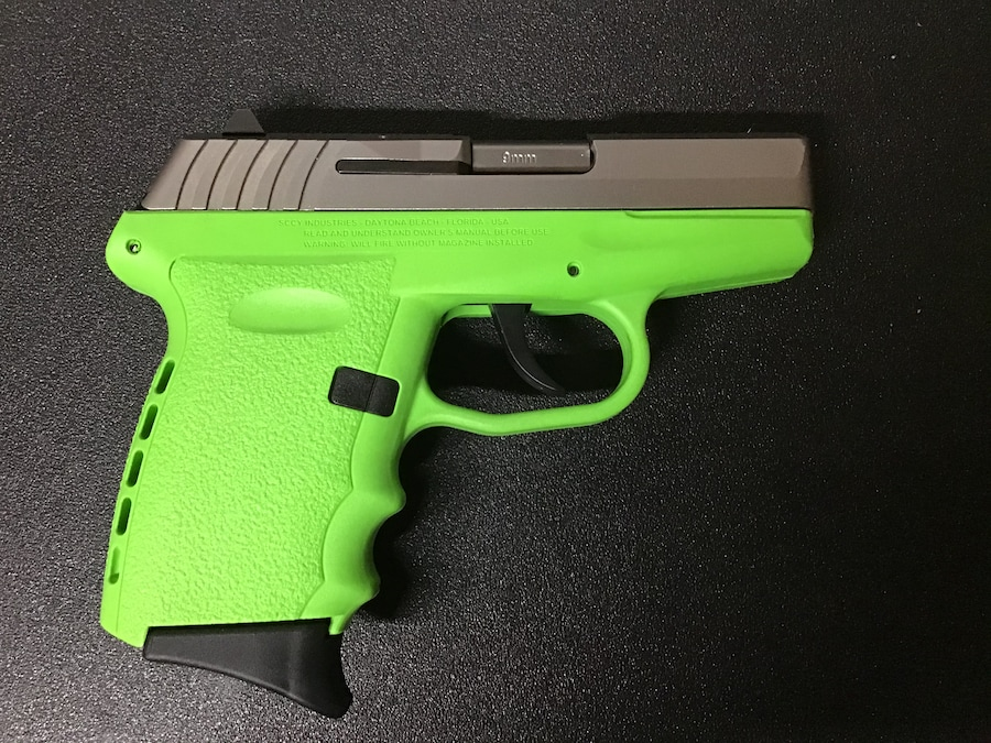 SCCY CPX-2TT Lime