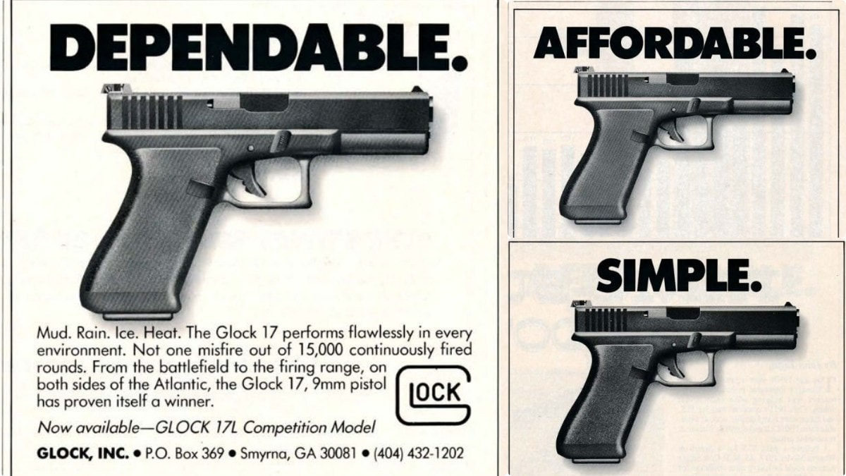 old glock print ads