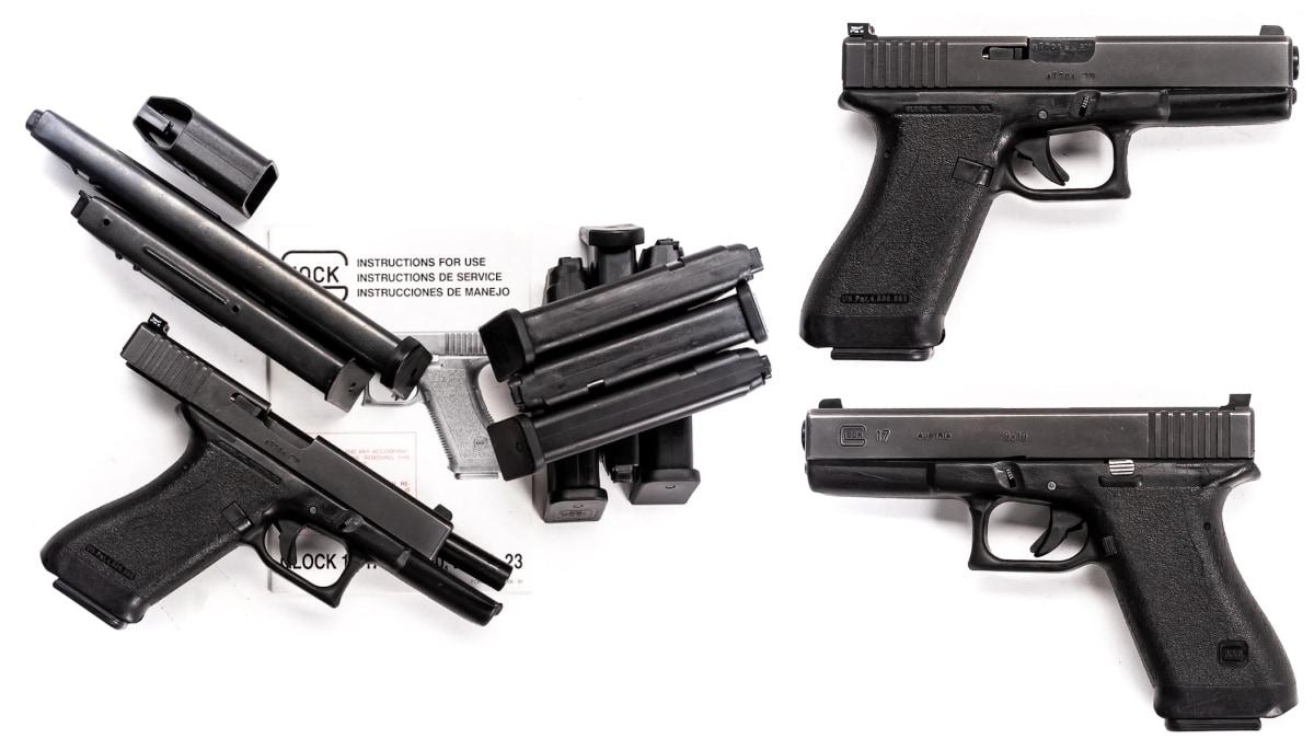glock 17 variations