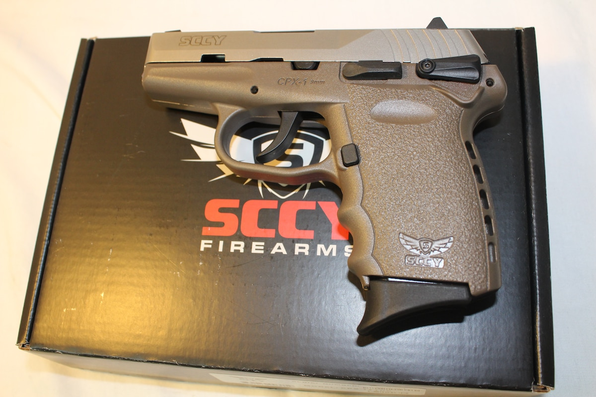 SCCY INDUSTRIES cpx-1ttde