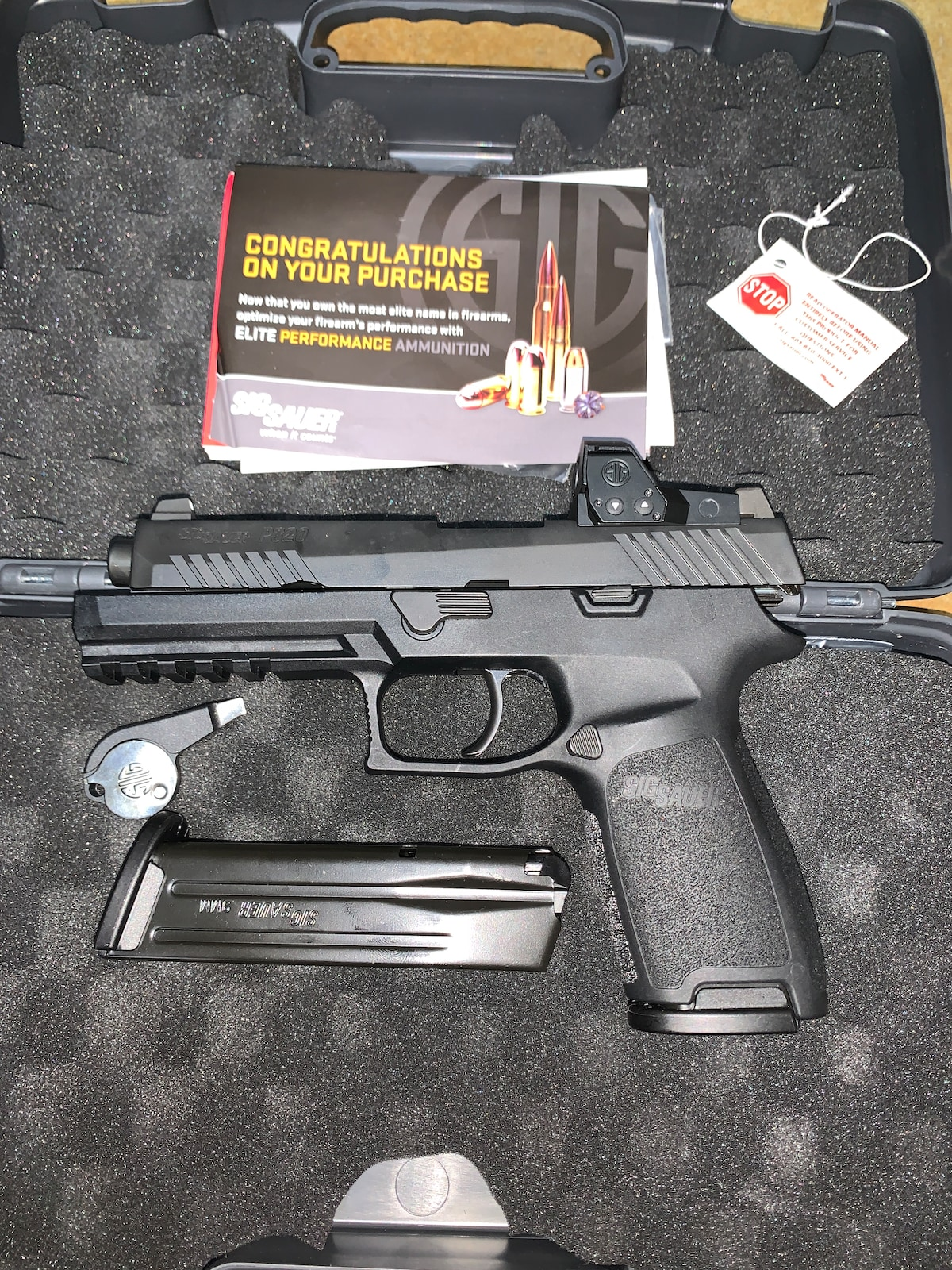 SIG SAUER P320 RXP FULL-SIZE