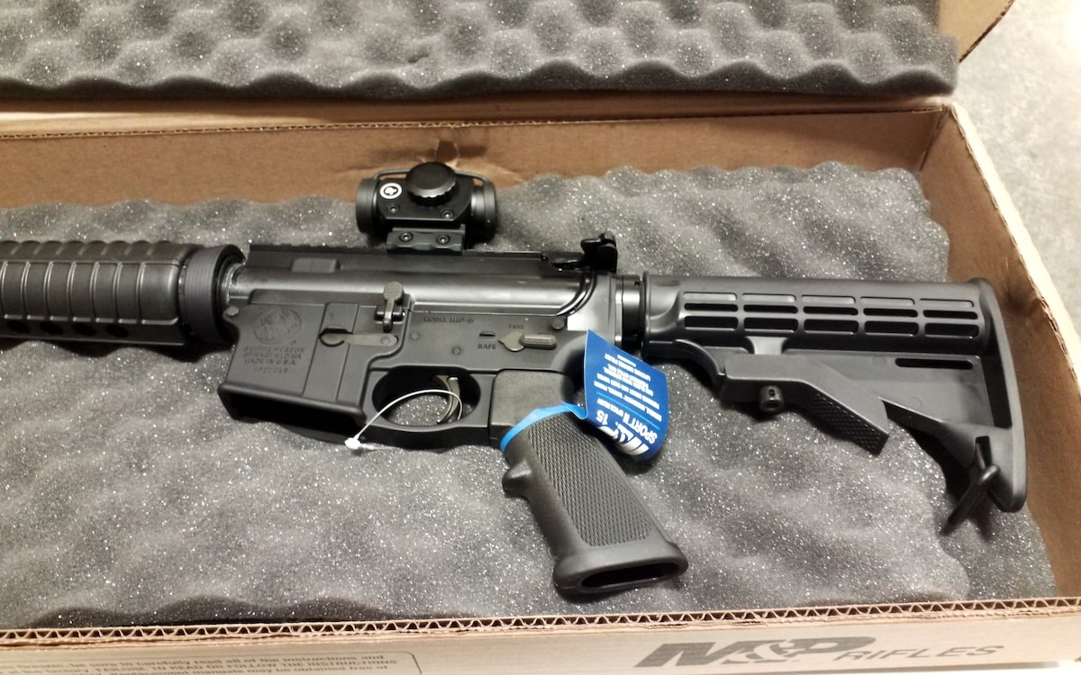 SMITH & WESSON M&P 15 SPORT II OR