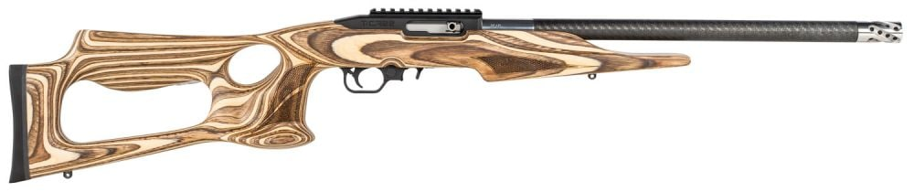 "Thompson/Center Arms 13230 Performance Center T/CR22 .22 LR 10+1 17"" Black Carbon Fiber Barrel Barracuda Stock"
