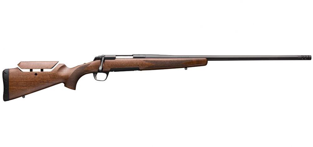 "Browning 035481282 X-Bolt Hunter Long Range 6.5 Creedmoor 4+1 22"" Satin Walnut Fixed w/Adjustable Comb Stock Matte Blued Right Hand"