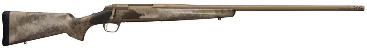 "Browning 035499295 X-Bolt Hells Canyon Long Range 30 Nosler 3+1 26"" Burnt Bronze Cerakote A-TACS AU Camo Right Hand"