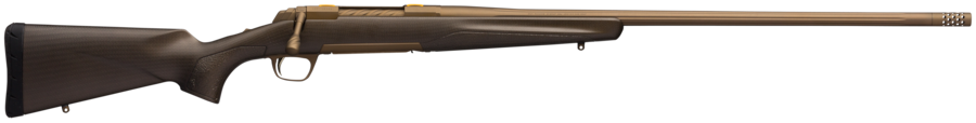 "Browning 035443244 X-Bolt Pro Long Range 300 RUM 3+1 26"" Burnt Bronze Cerakote Fixed w/Textured Gripping Panels Stock Right Hand"