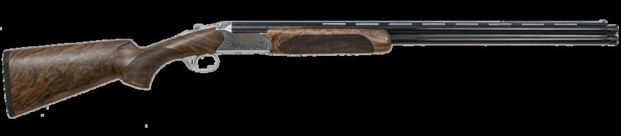 "CZ 06412 Supreme Field 28 Gauge 28"" 2 3"" Polished Nickel Chrome Turkish Walnut Right Hand"