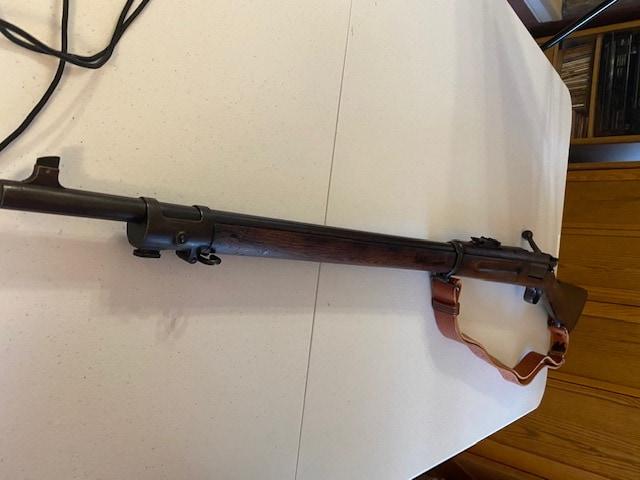KRAG-JORGENSEN (30/40 KRAG) 1898 Rifle U.S. Springfield High Condition w/1902 Cartouche