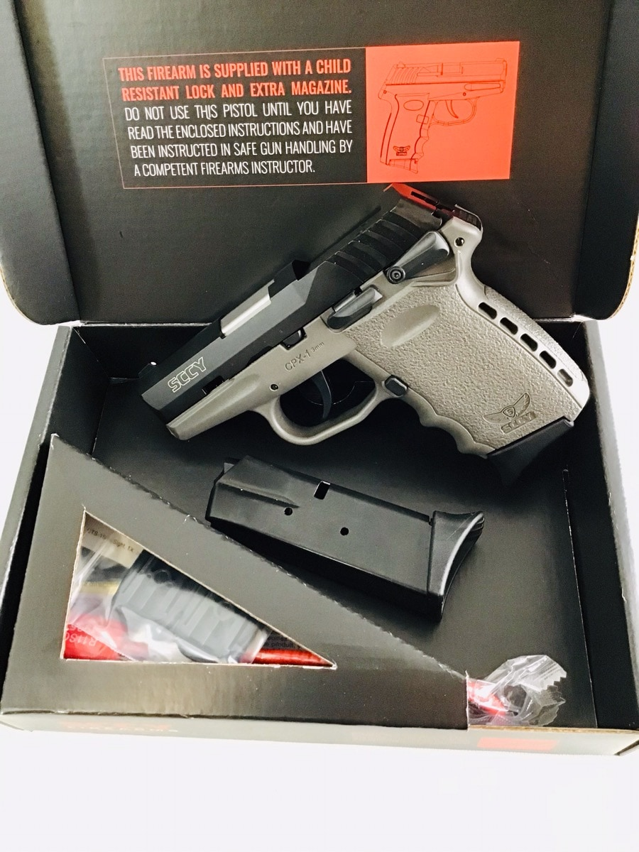 SCCY INDUSTRIES CPX-1CBSGRD