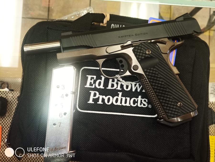 ED BROWN PRODUCTS, INC. KRYPTEIA