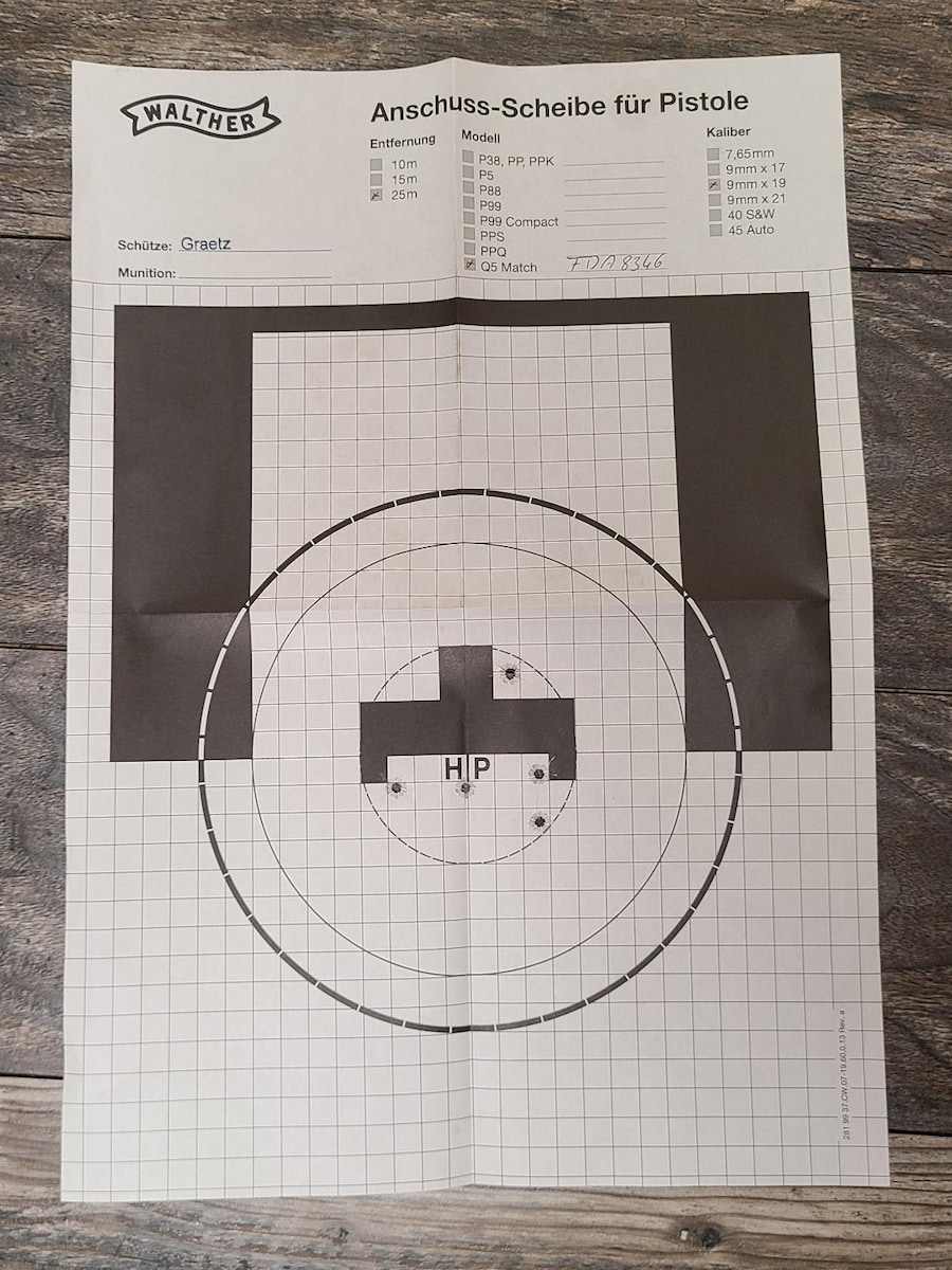 WALTHER PPQ Q5 Match SF