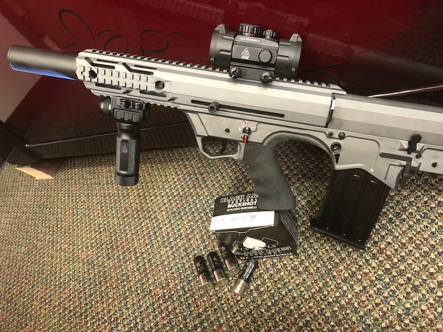 BLACK ACES TACTICAL Bullpup Sniper Gray light packsge