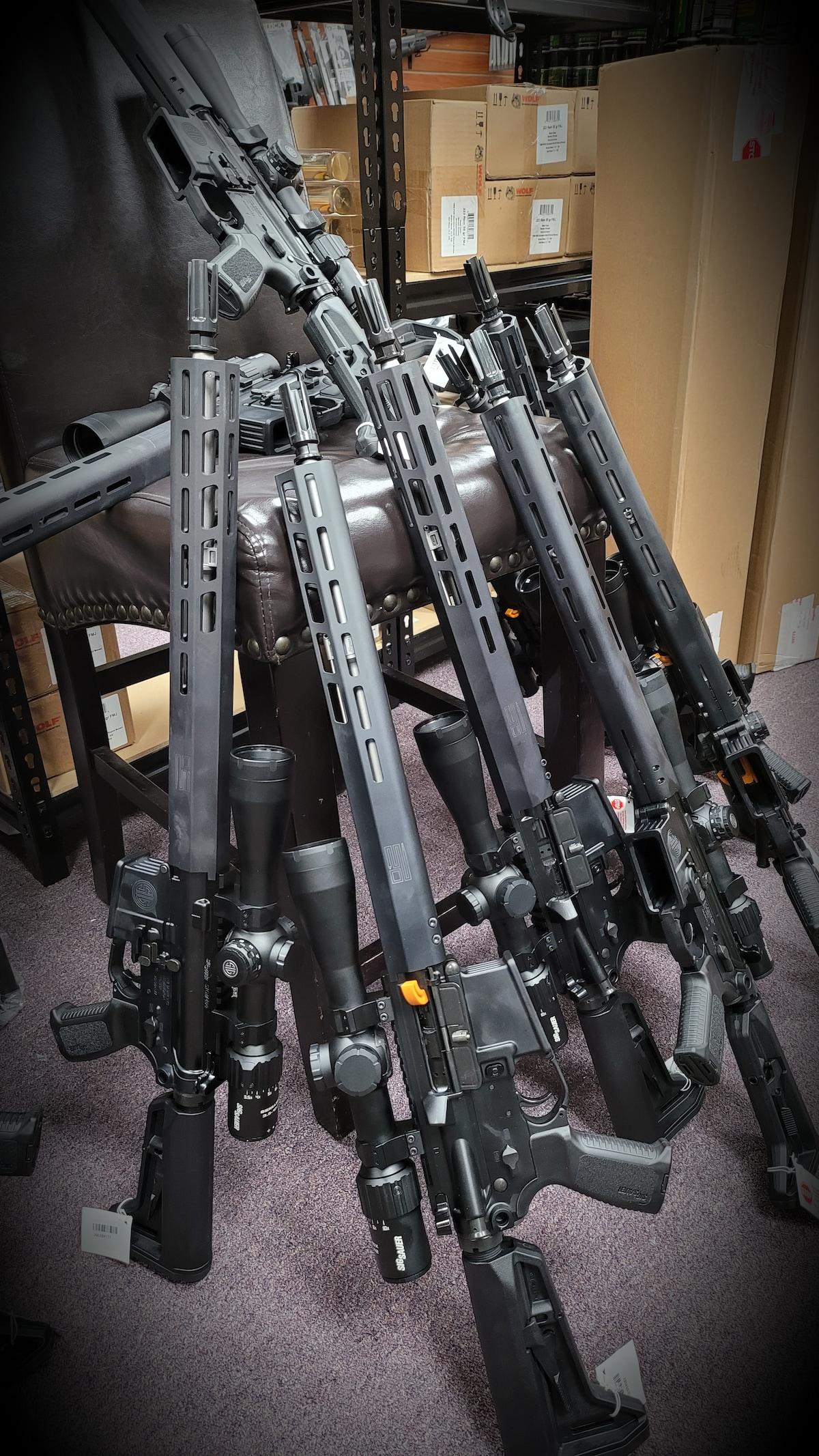 "SIG SAUER Sig Sauer M400 TREAD 5.56 NATO 16"" 30rd Black/Stainless Steel Rifle w/M-LOK and Sierra3 BDX Scope RM400-16B-TRD-BDX"