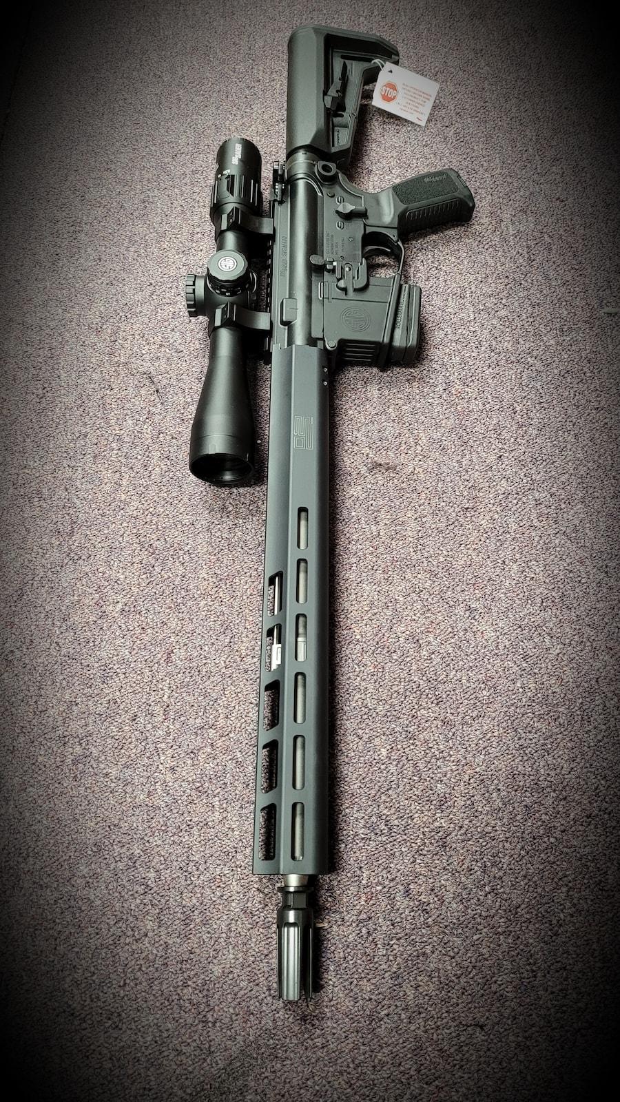 SIG SAUER Super Rare NY / CA LEGAL FIXED MAGAZINE M400 AR15 M4 SIG SAUER