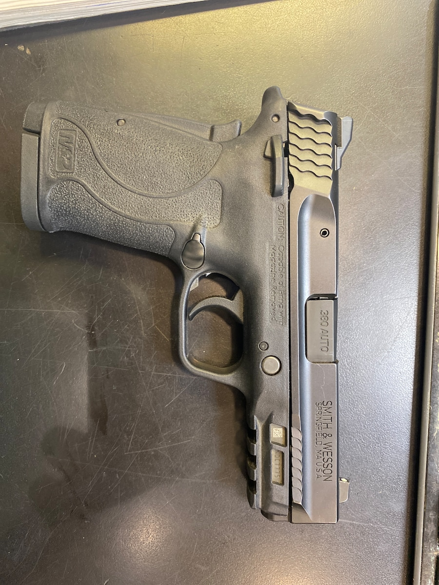 SMITH AND WESSON m&p shield ez