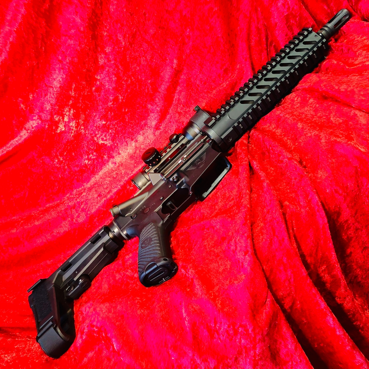 WILSON COMBAT AR-15 MIL-SPEC CUSTOM PDW PISTOL