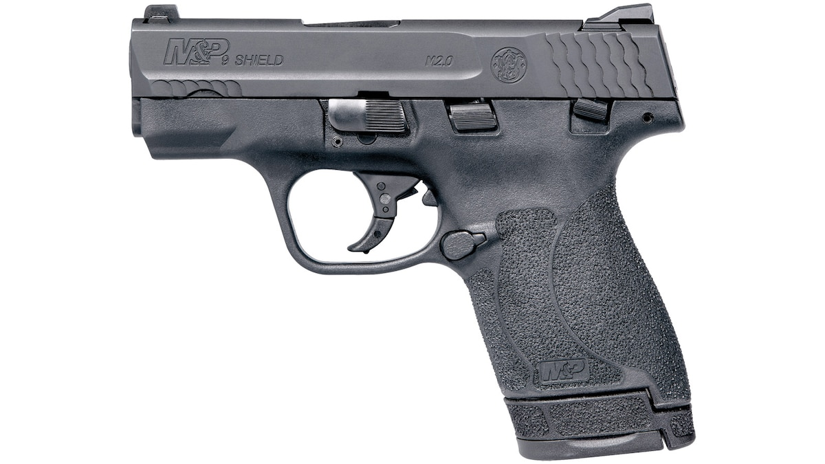SMITH & WESSON M&P 9 SHIELD Manual Thumb Safety