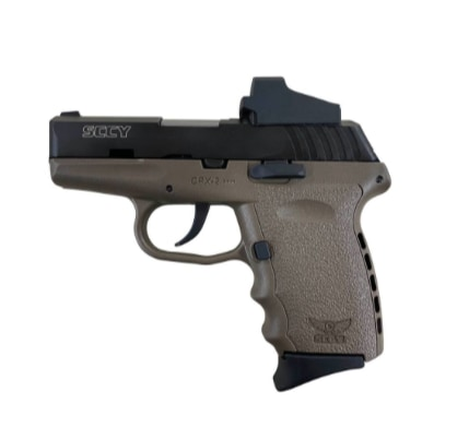 SCCY INDUSTRIES CPX-2 CT Red Dot