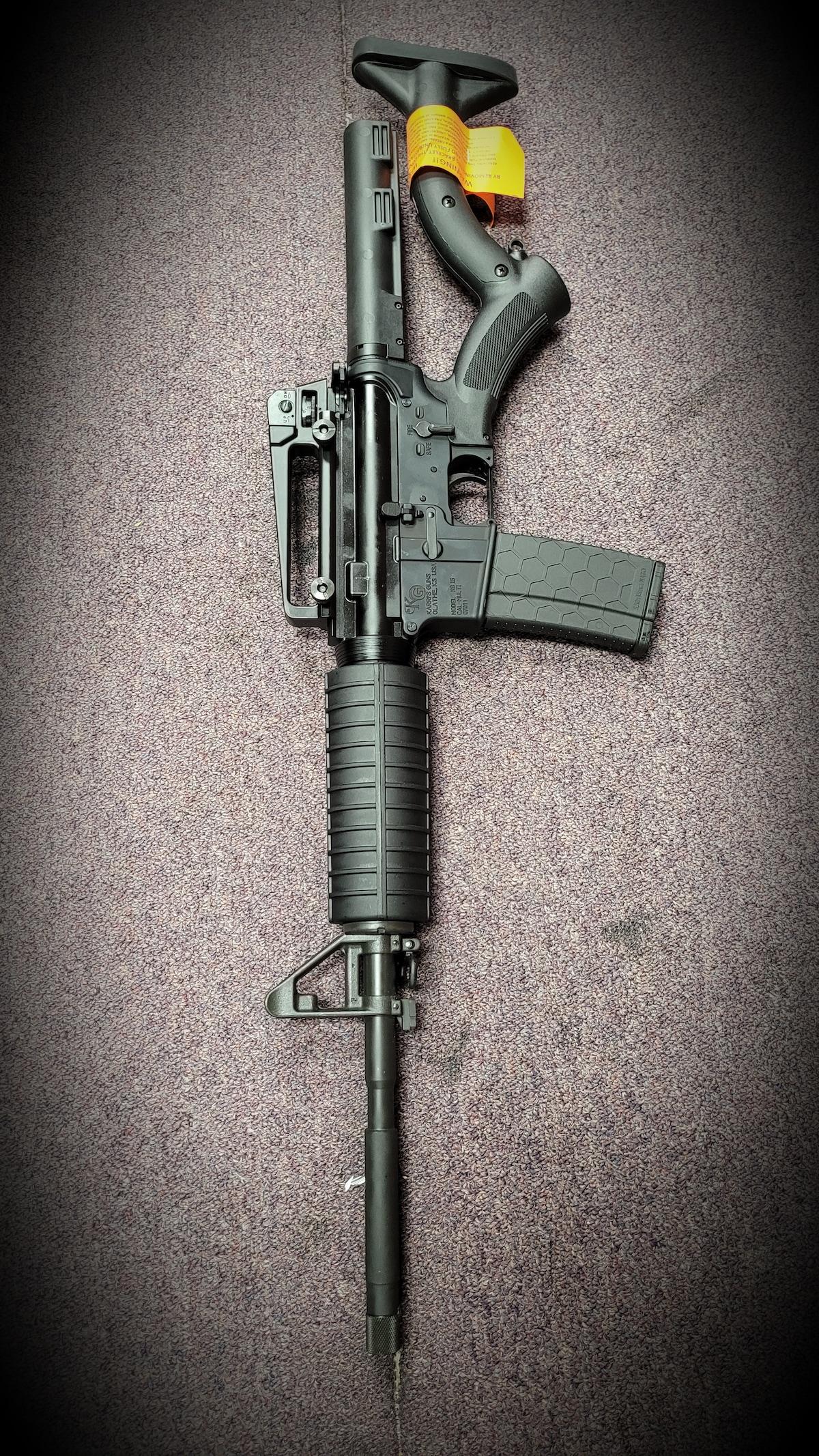 KARRI'S GUNS Featureless KG-15 AR AR-15 M4 M16