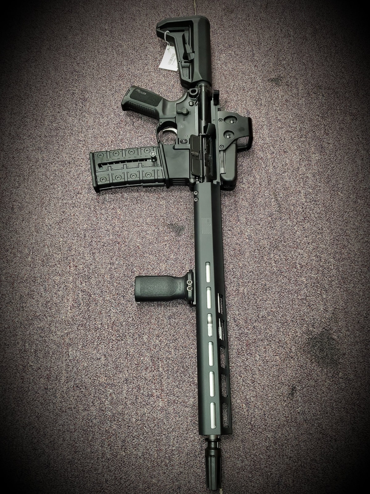 SIG SAUER FIXED MAGAZINE M400 AR15 M4 SIG SAUER With full package