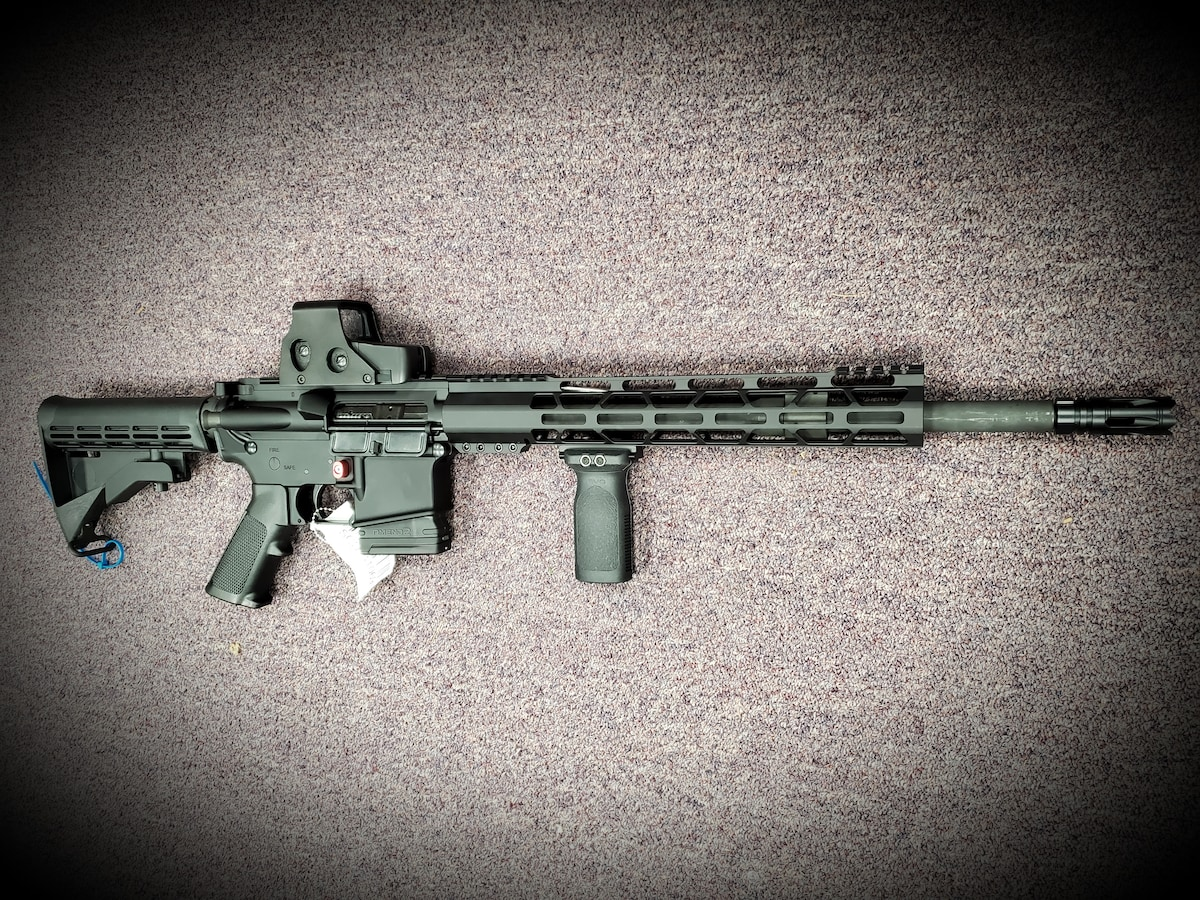 PALMETTO STATE ARMORY Full package loaded ready to go Fixed Magazine AR-15 PA15 M4