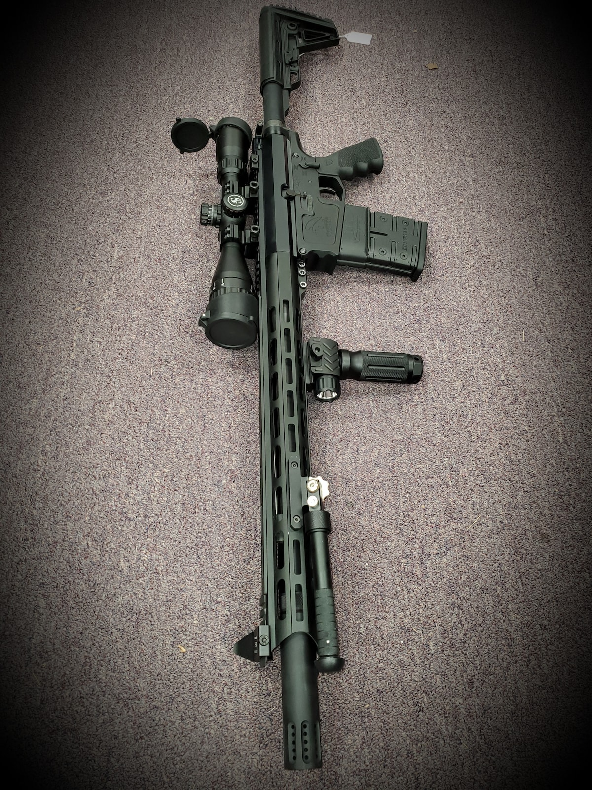 MORIARTI ARMAMENTS FIXED MAGAZINE AR10 Full package Ready to go