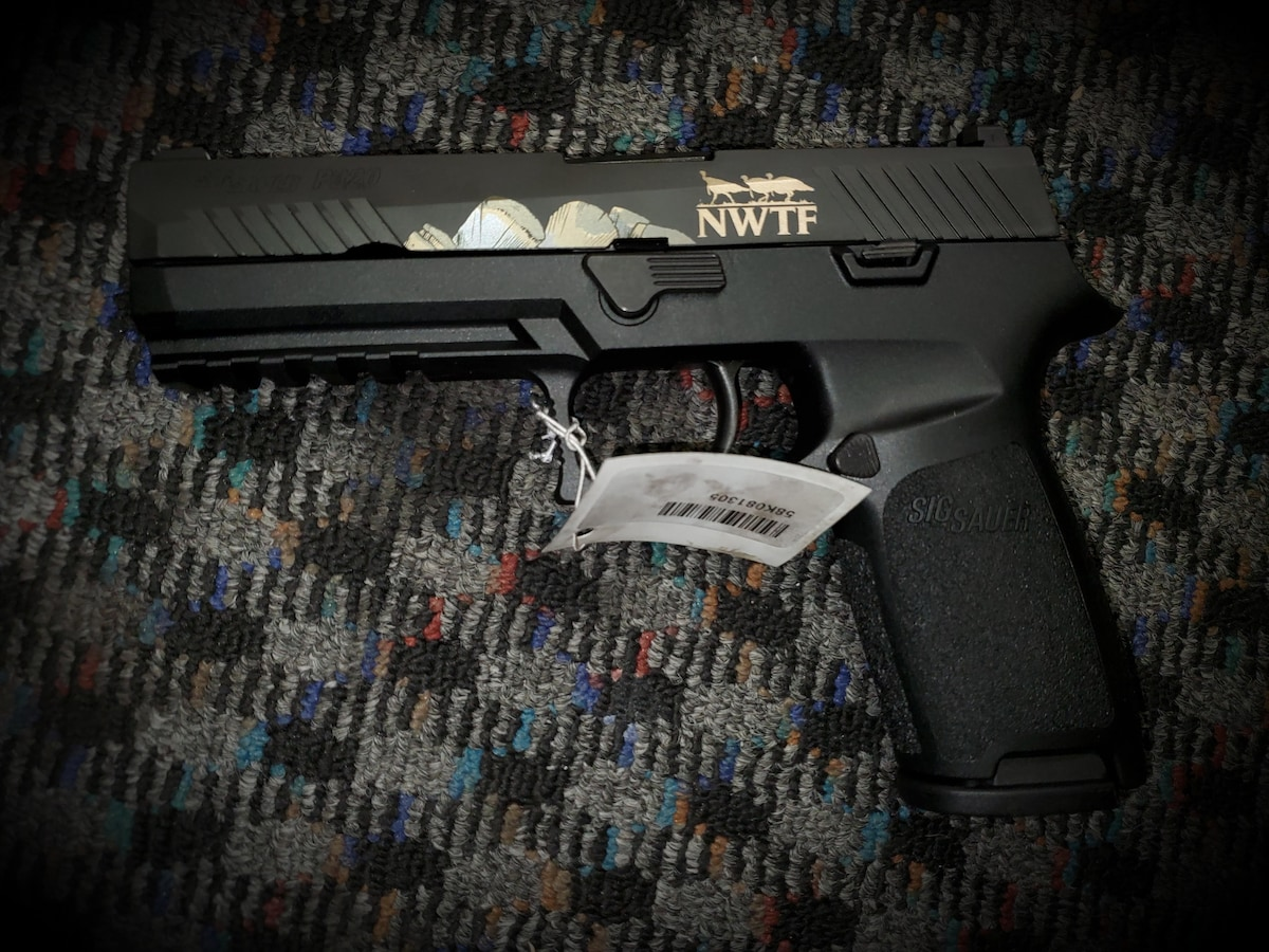 SIG SAUER P320 Engraved Edition with 10 rd magazine