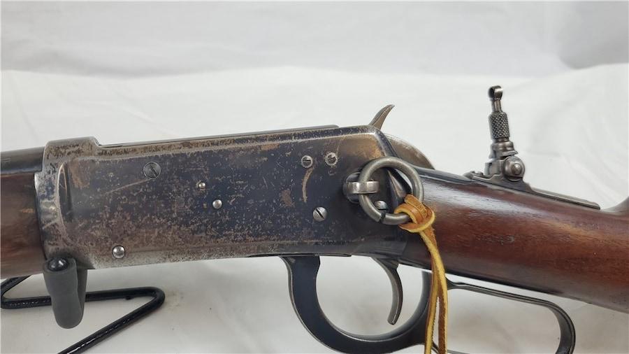 WINCHESTER MODEL 1894 SADDLE RING -1927 PEEP