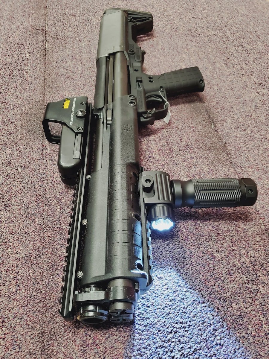 KEL-TEC KSG with red dot & flashlight