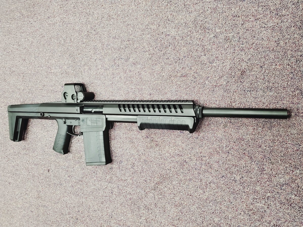 BLACKWATER FIREARMS BLACKWATER SENTRY 12 GAUGE TACTICAL WITH RED DOT SIGHT FULL PACKAGE