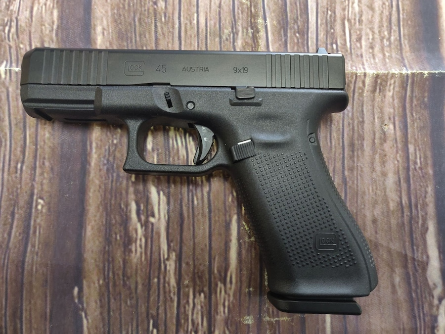 GLOCK 45 G45 Gen 5 All Black