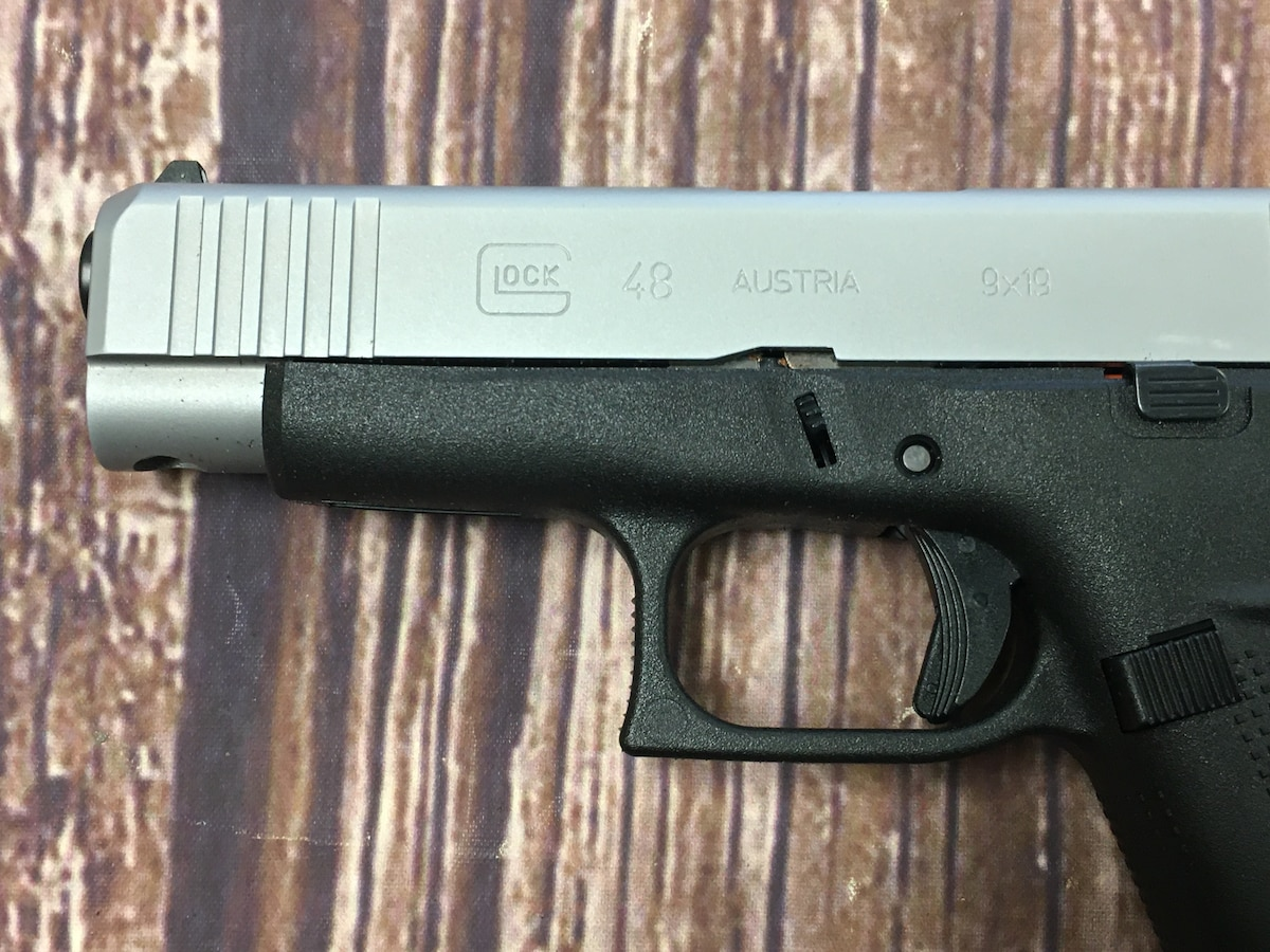 GLOCK G48 48 Silver Slide Limited Edition