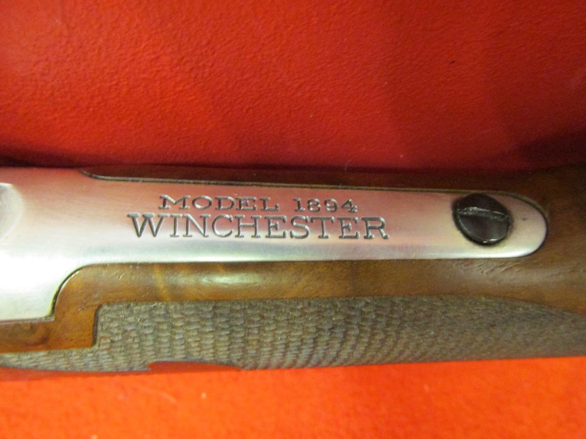 WINCHESTER 1894 LEGENDARY FRONTIERSMAN ANTIQUE SILVER