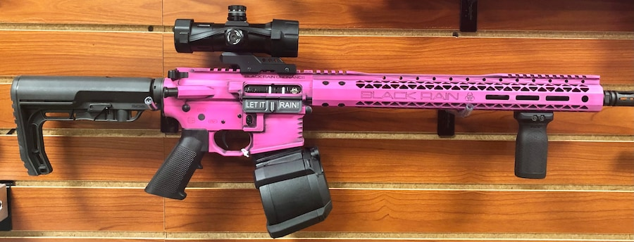 BLACK RAIN ORDNANCE FALLOUT 15 Pink Drum package