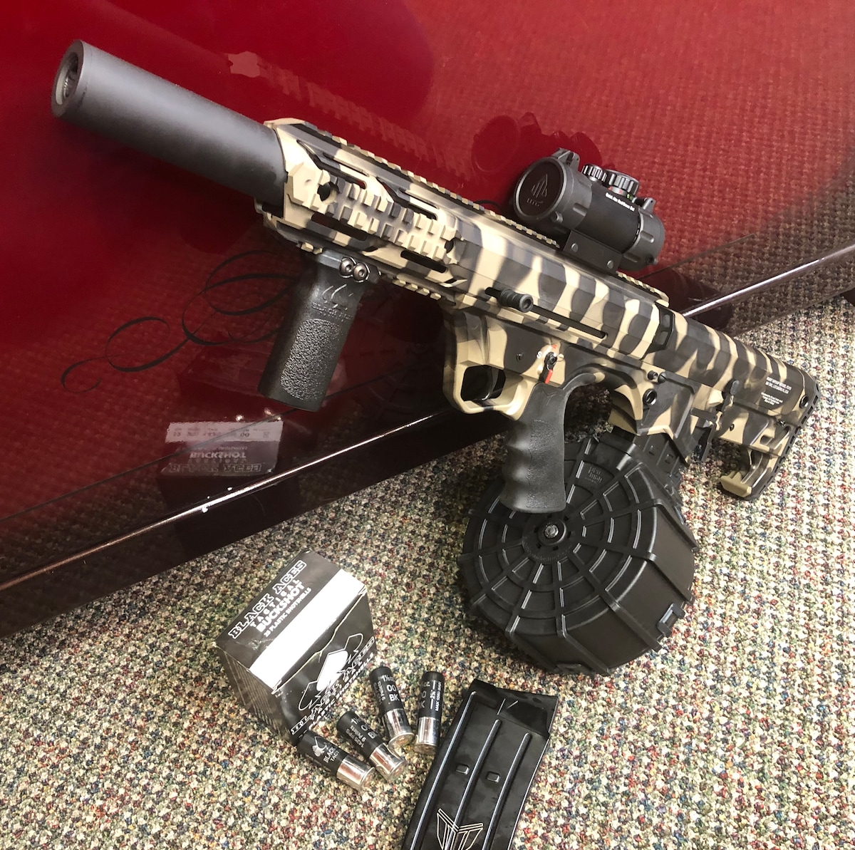 BLACK ACES TACTICAL PRO SERIES BULLPUP tiger package