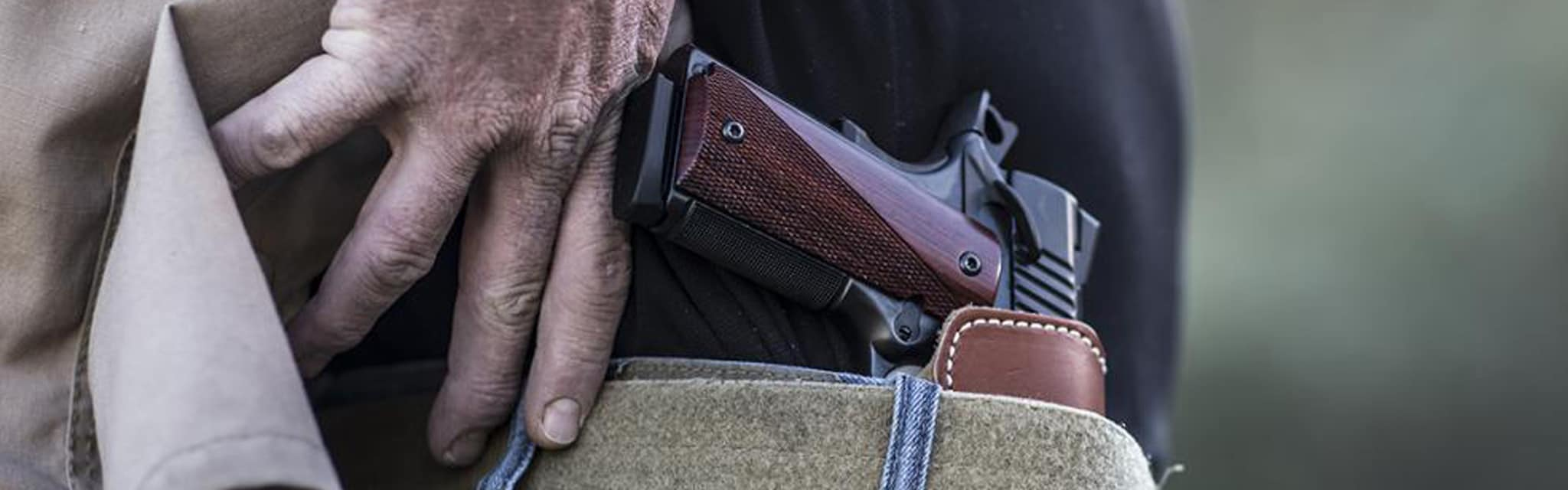 concealed carry brand banner