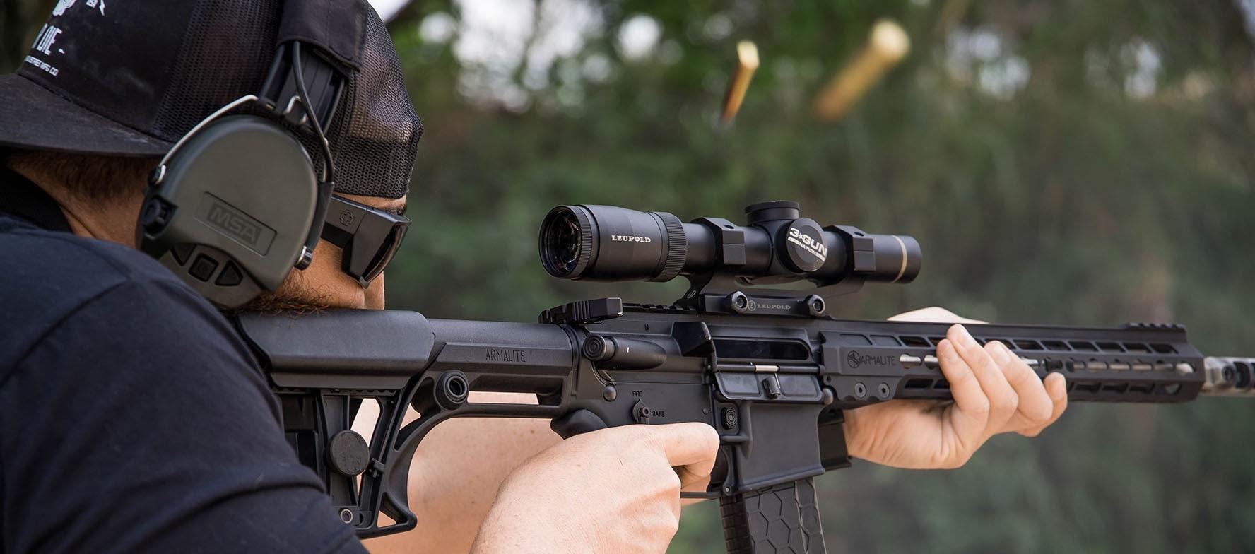 Armalite semi auto rifle