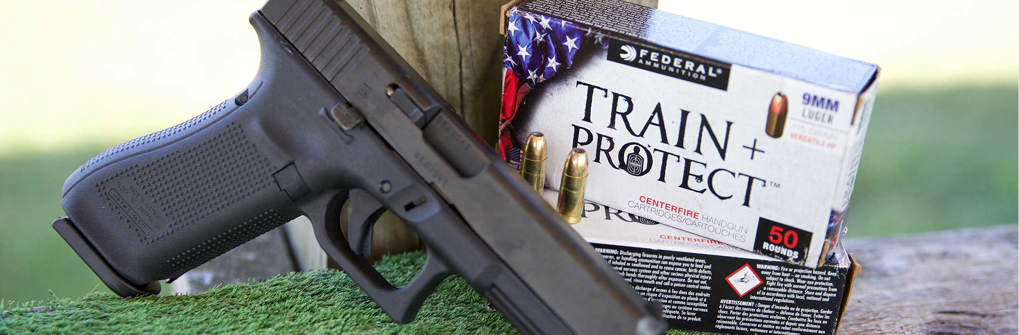 Lifestyle 9mm Federal Handgun Ammo Train and Protect