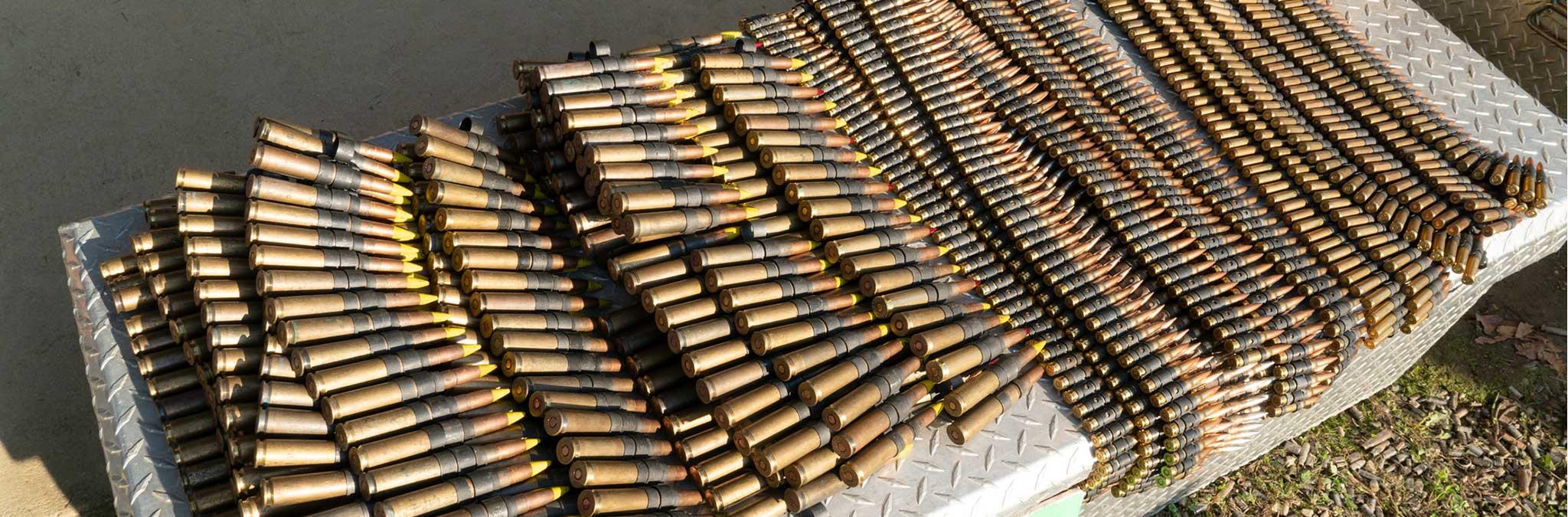 Lifestyle Belt Rifle Ammo Banner