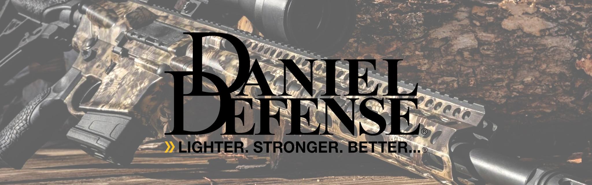 DANIEL DEFENSE BRAND BANNER