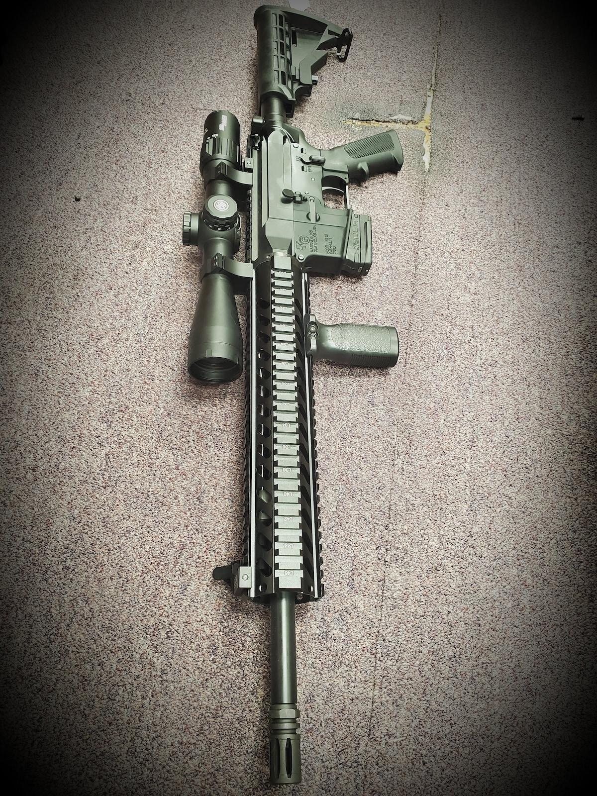 KARRI'S GUNS full package KG-15 AR15 M4 Fixed Magazine
